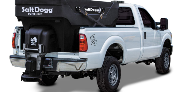 The SaltDogg Pro1500 is designed for short-bed trucks.