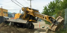 Gradall's XL 4300 V Excavator Does Not Require Outriggers