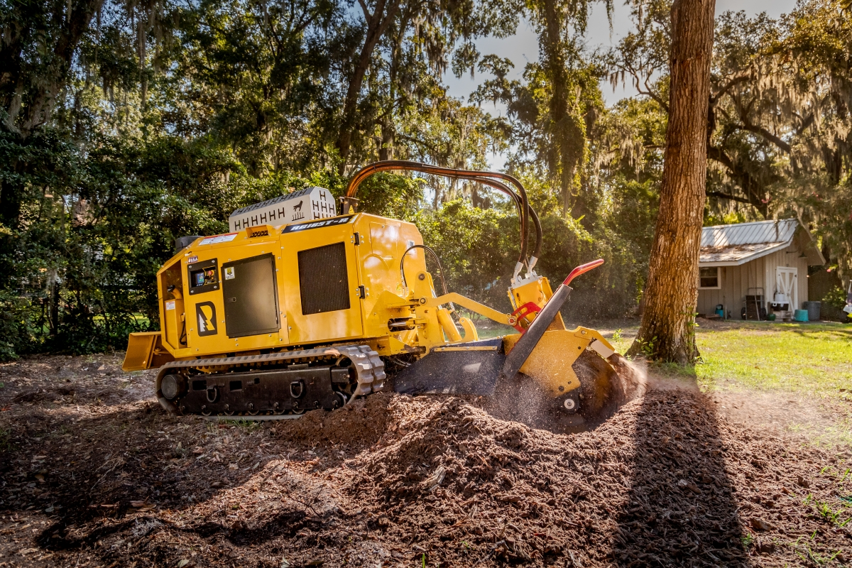 Morbark Debuts Rayco RG165T-R Stump Cutter