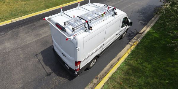 Weather Guard's new All-Purpose Steel Van Rack can be installed in less than an hour.