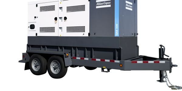 Atlas Copco Power Technique's QAS 250 and QAS 330 generators feature powder-coated steel that is...