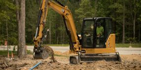 Caterpillar Expands Mini Hydraulic Excavator Line with 306 CR