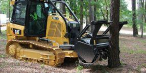 Cat D3K2 Mulcher Features Durable, Productive Design