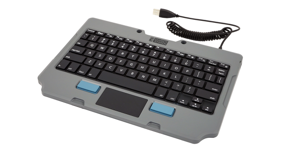 The new Rugged Lite Keyboard is ideal for applications that do not require a fully rugged keyboard.