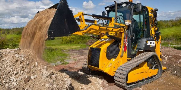 JCB's 1CXT compact backhoe loader has a 60% smaller footprint than a full-size backhoe loader.