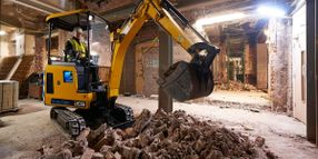 JCB Electric Mini Excavator Ideal for Urban Job Sites
