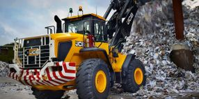 JCB Wheel Loaders Available with High Lift Option