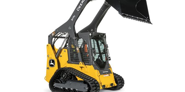 John Deere's upgradedsmall-frame G-Series skid steers and compact track loaders feature...