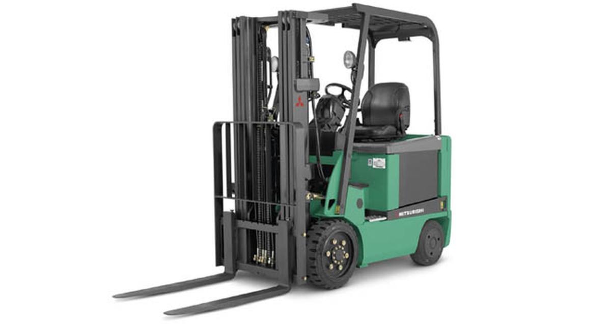 Mitsubishi Forklifts Designed for Optimum Comfort