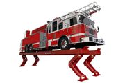 The Vertical Rise Lift can be used on heavy-duty vehicles, including buses, refuse trucks, and...