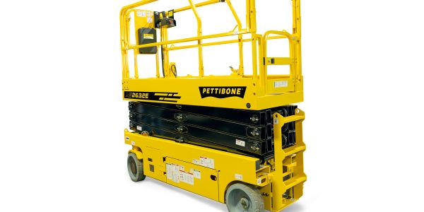 Pettibone's mobile elevating work platforms (MEWPs) are available in electric or hydraulic drive...