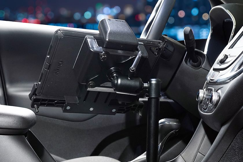 Zirkona joiners are designed to safely secure a variety of light devices in a vehicle.