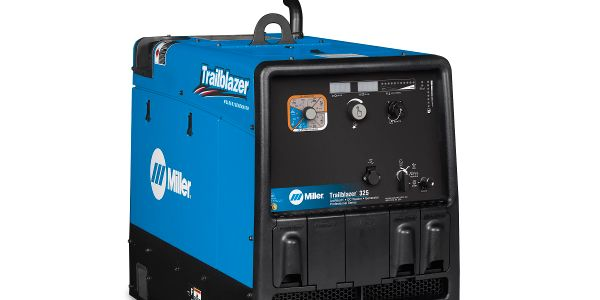ArcReach technology will now come standard on gas and diesel Trailblazer 325 welder/generator...