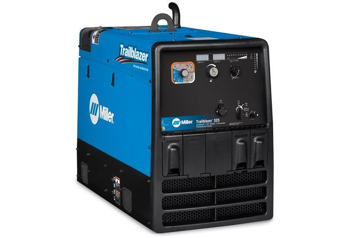 ArcReach technology will now come standard on gas and diesel Trailblazer 325 welder/generator models. - Photo courtesy of Miller