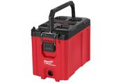 The Packout compact tool box features an intuitive and quick attachment mechanism, allowing it...