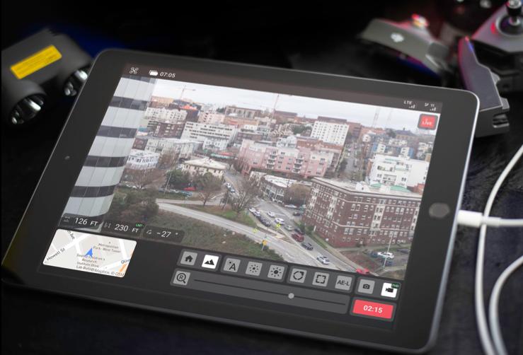 Axon Air App Livestreams Drone Footage Into Evidence