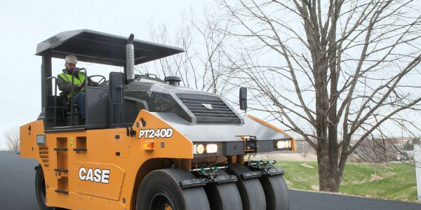 Case's PT240D is built for sub-base and asphalt compaction on large-scale road and highway...
