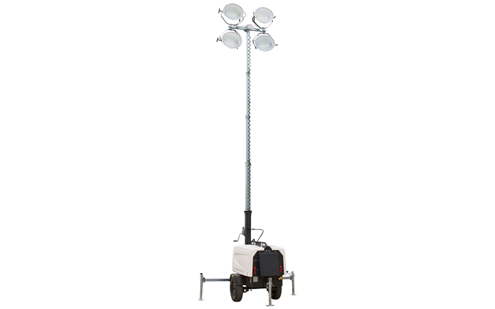 The WCDE-4-30FT-MHL features a three-stage, fold-over light mast. - Photo courtesy of Larson Electronics