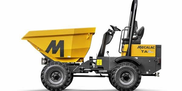 The Mecalac range of Power Swivel site dumpers features payload options from 1 to 10 tons.