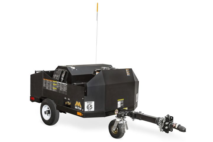 TheMi-T-M Corporationhot water mini trailer utilizes a 12-volt Beckett burner to heat water up to 210 degrees Fahrenheit, ideal for heavy-duty cleaning. - Photo courtesy ofMi-T-M Corporation