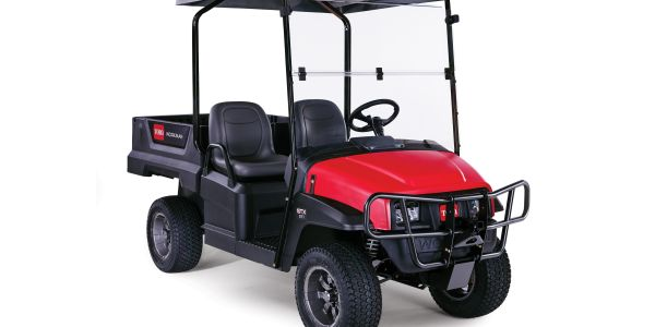 The higher clearance of the Workman GTX Utility Vehicles protects golf courses by making it...