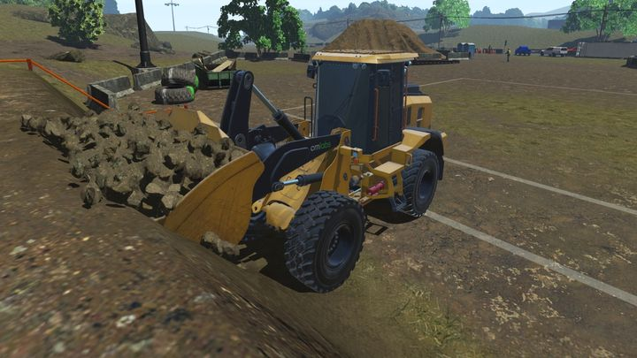 CM Labs' Wheel Loader Simulation Training Pack introduces guided learning in the form of real-time feedback during exercises. - Photo courtesy of CM Labs