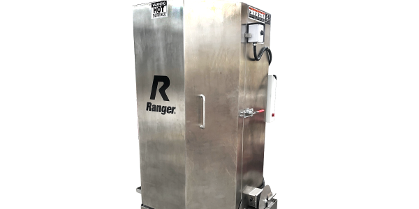 The Ranger RS-500DS wash cabinet can degrease a full range of vehicle parts, from nuts and bolts...