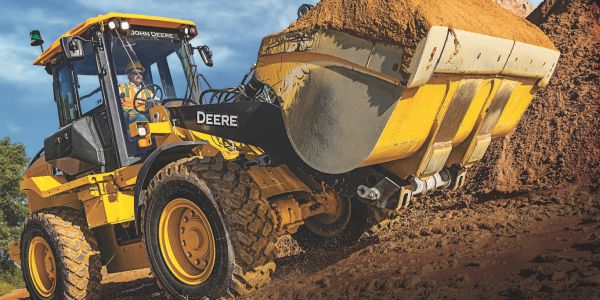 The L-Series Wheel Loaders incorporate several improvements to boost performance and...
