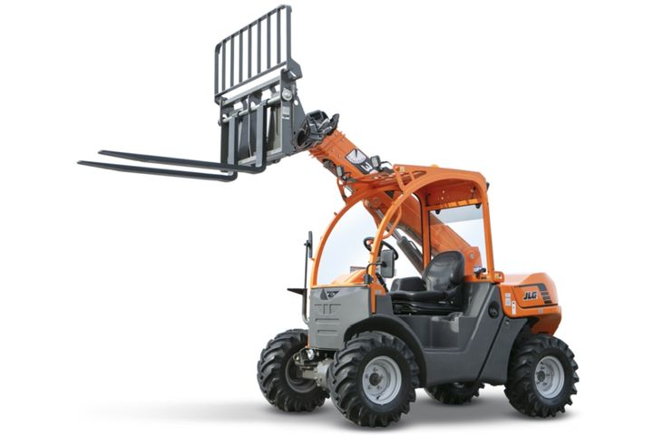 The SkyTrak 3013 ultra-compact telehandler was purpose-built for use in small spaces requiring up-and-over reach such as light construction, agriculture, landscape, and hardscape work. - Photo: JLG Industries