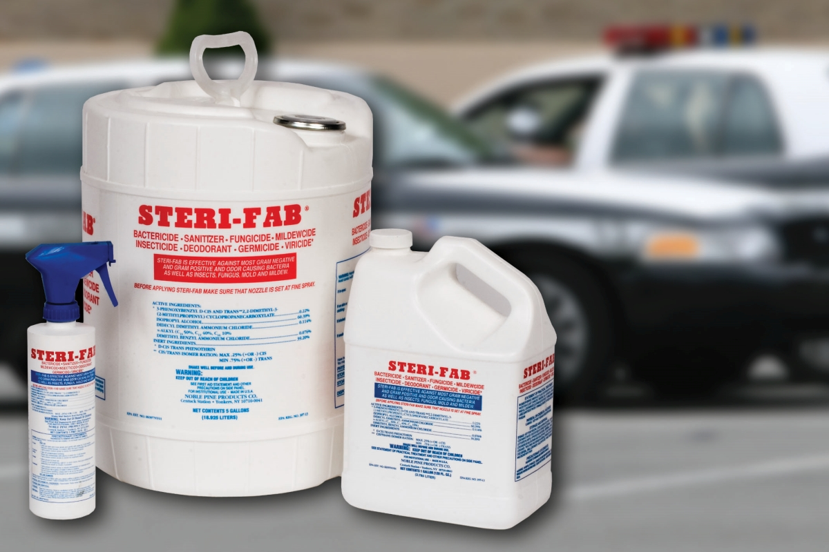 Sterifab Disinfectants Kill Bacteria Quickly