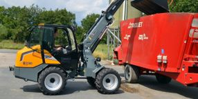 Giant G3500 Compact Wheel Loader Debuts in North America