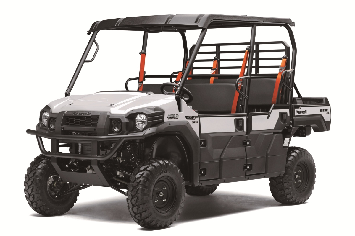 Kawasaki Introduces Mule Fleet Edition Models