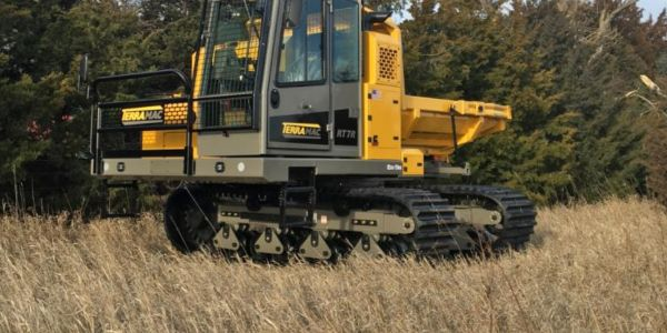 Terramac Launches 360-Degree Rotating RT7R Crawler Carrier