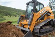 The DL550B is the construction industry's first fully integrated compact dozer loader.