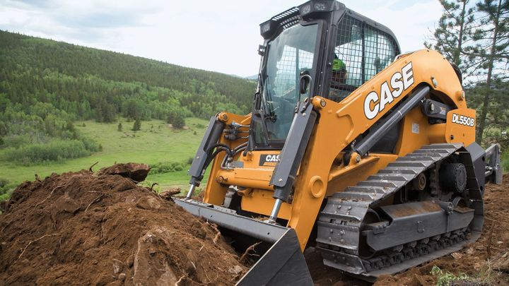 The DL550B is the construction industry's first fully integrated compact dozer loader. - Photo: CASE Construction