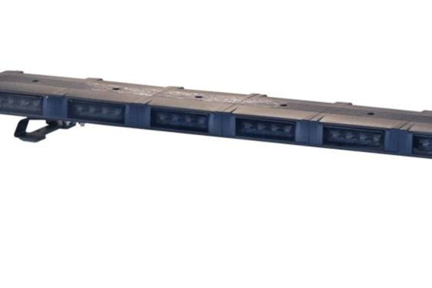 The bar features 20 replaceable LED modules.