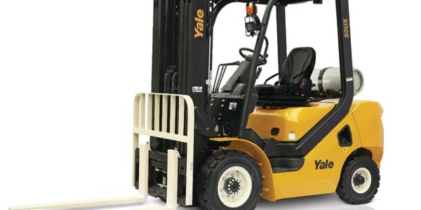 The GLP040-070UX Series rounds out the company's ICE pneumatic tire lift truck range.