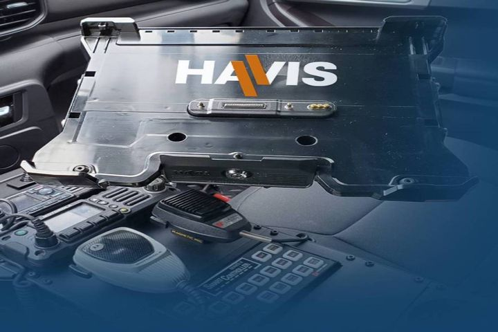 The new docking stations are compatible with Getac's B360 and B360 pro laptops. - Photo: Havis