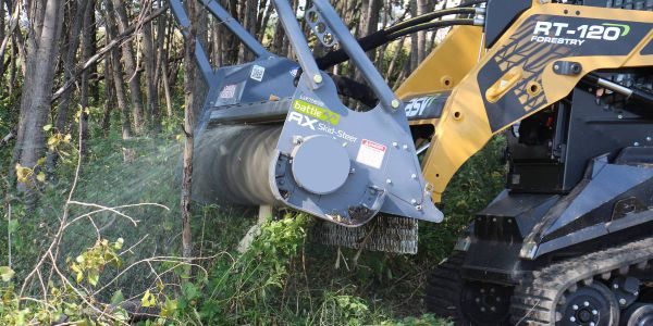The attachment is ideal for improving productivity in forestry mulching, land clearing, trail...