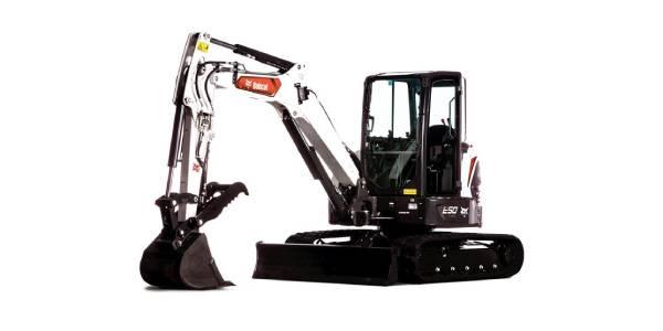 Doosan Bobcat, Green Machine Partner for Electric Compact Excavators