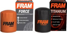 FRAM Titanium and Force Oil Filters