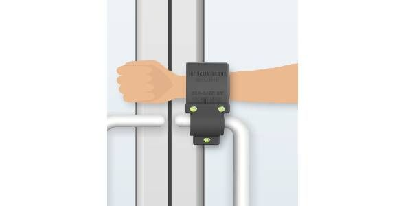 Phillips Industries STA-SAFE Hands-Free Door Extension