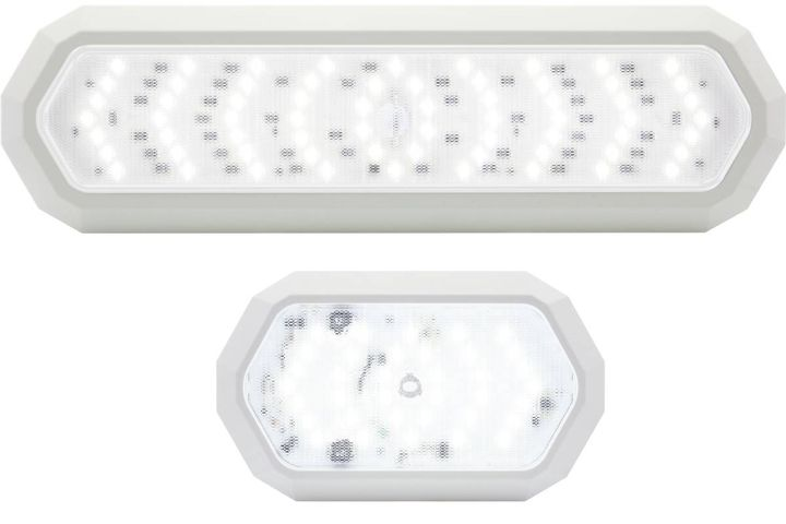 Memory features, motion detection, brightness, variable intensity, and a low profile set these lamps apart. - Photo: Optronics