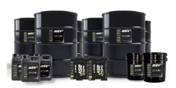 ASV Introduces ELITE Line of Lubricants