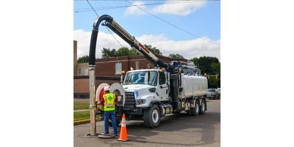 Vacall AllJetVac Combo Sewer Cleaner