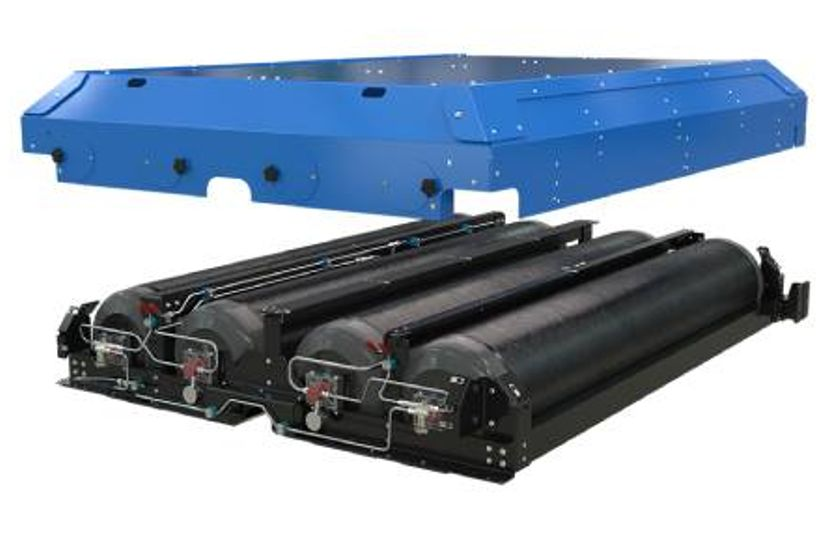 Agility's Improved Roof Mount CNG Fuel Systems