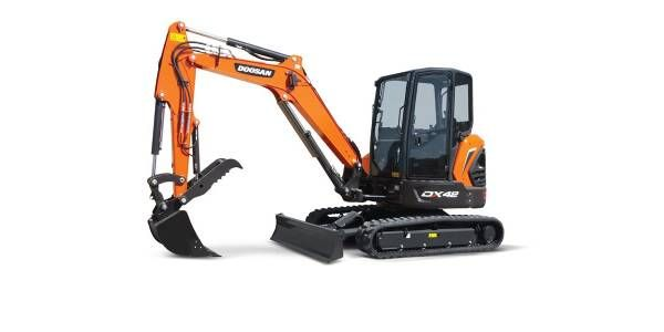 Doosan Introduces Updated Mini Excavators