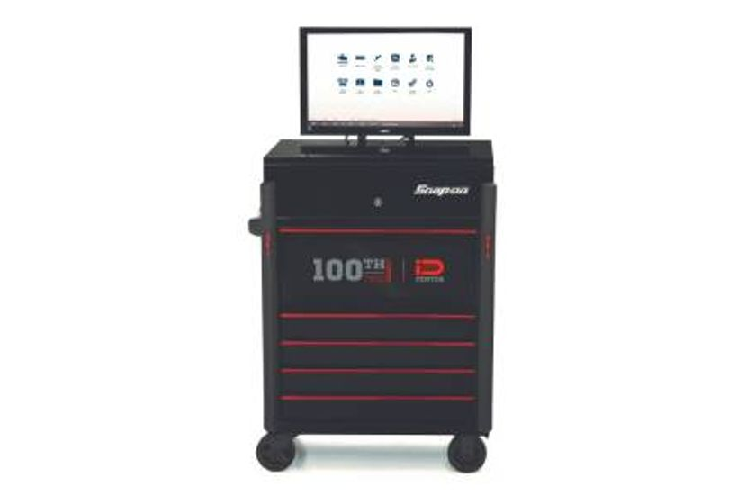 Snap-on 100th Edition ZEUS Workstation