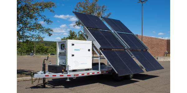 POWR2 12 Panel Solar Trailer