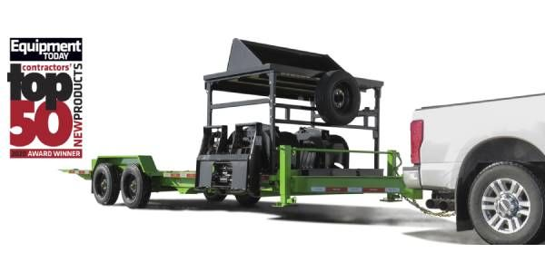 Felling's FT-16 IT-I Drop Deck Industrial Tilt Equipment Trailer